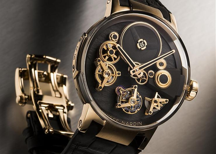 "崇尚自由的機械-ULYSSE NARDIN Executive Tourbillon ""Free Wheel"""