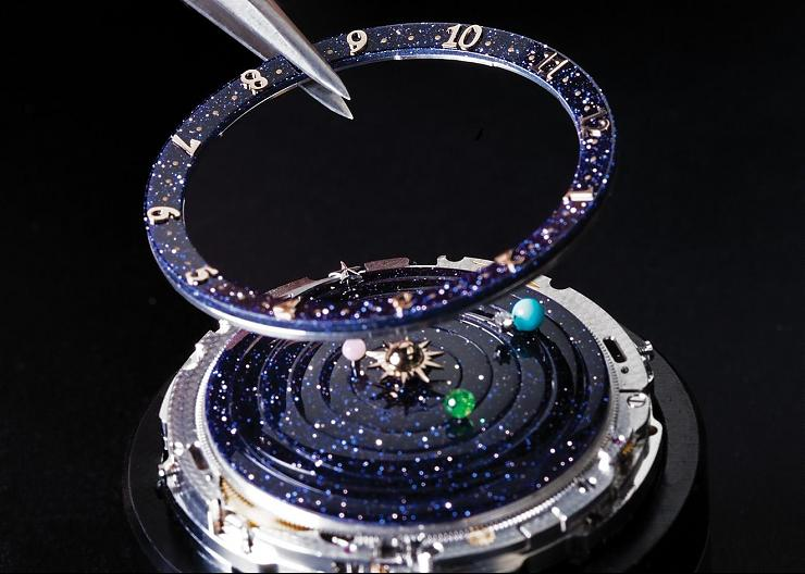 「詩意」星球 VCA Lady Arpels Planétarium Poetic Complications華麗進階版