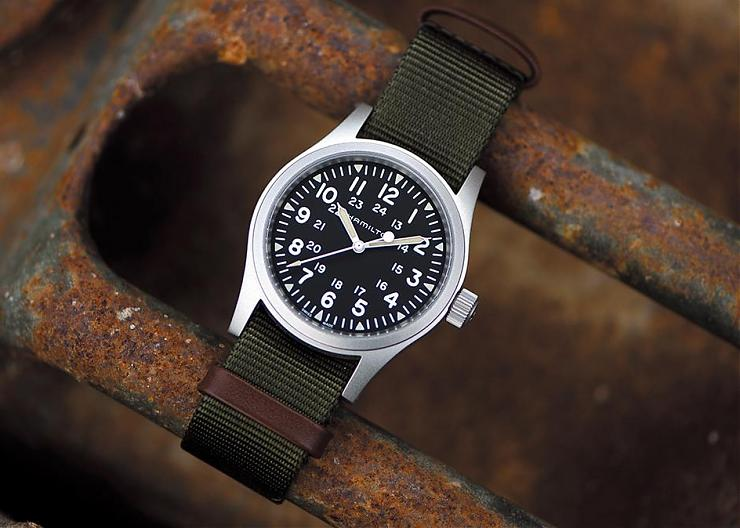 手上鍊風再起?HAMILTON Khaki Field 38mm