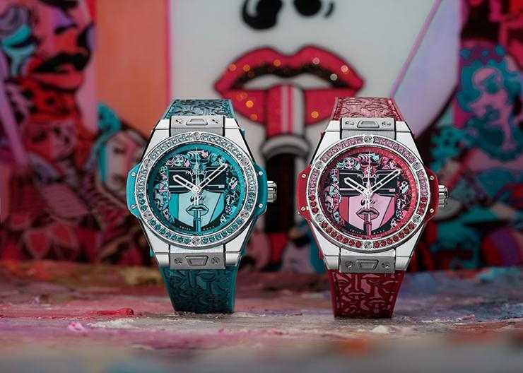 HUBLOT跨界藝術碰撞展現女力 Big Bang One Click Marc Ferrero