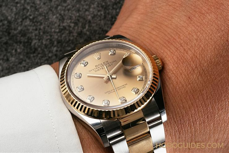 newest collection e0a37 3348c 最實戴的勞力士Datejust 36 two-tone 三款新作登場- Horoguides ...
