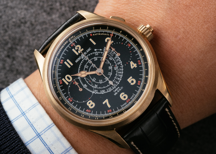 MONTBLANC 超值追針計時碼錶-1858 Split Second Chronograph