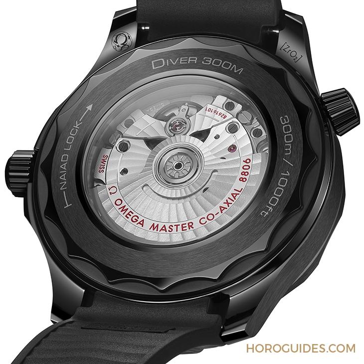 OMEGA - 黑陶瓷全面釋放!OMEGA Seamaster Diver 300M Black Black