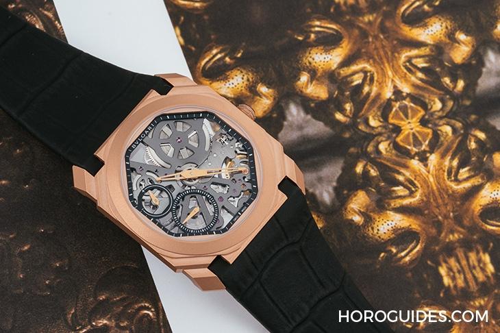 絕美的化身,寶格麗的製錶真工夫:Octo超薄鏤空噴砂腕錶