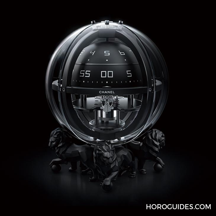 new arrival 066ce b7afd 萬獸之王的氣派,CHANEL x L'ÉPÉE獅子座鐘- Horoguides 名錶指南 ...