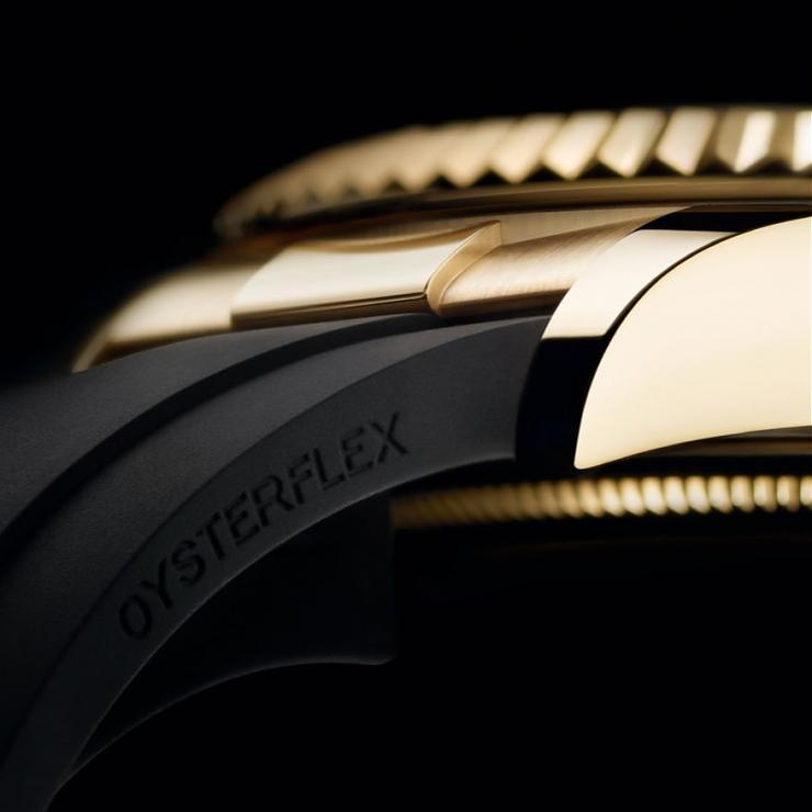 ROLEX - SKY-DWELLER - 326238-0007 - ROLEX Sky-Dweller首次搭配黑橡膠錶帶!